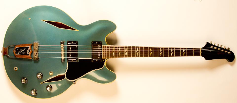 1966 Gibson Trini Lopez Pelham Blue -1