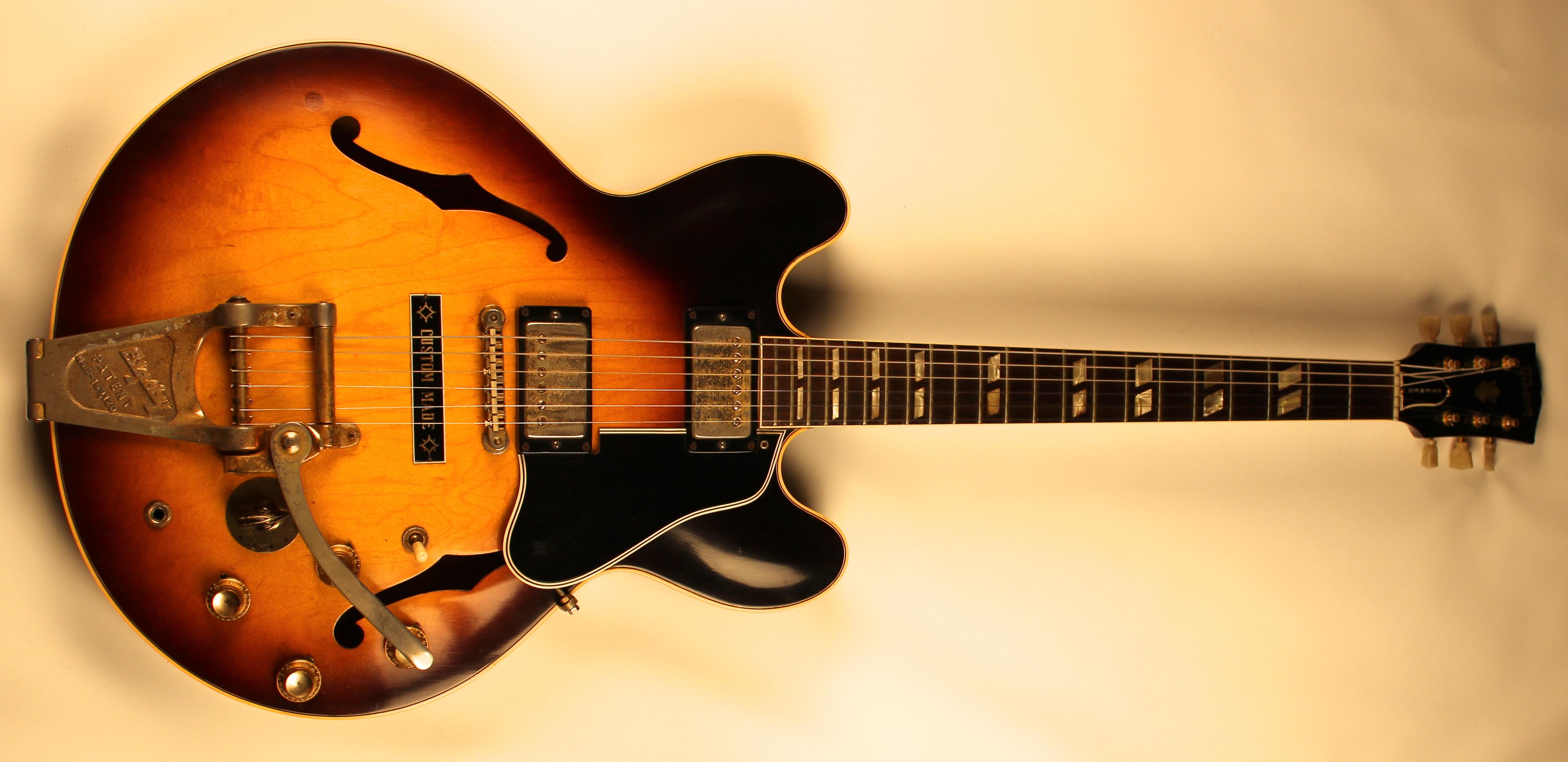 drew berlin 39 s vintage guitars 1963 gibson es 345 sun burst. Black Bedroom Furniture Sets. Home Design Ideas