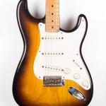 1955 Fender Stratocaster Ash Sunburst-1