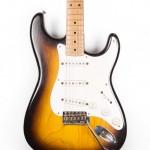 1955 Fender Stratocaster Sunburst Ash-1