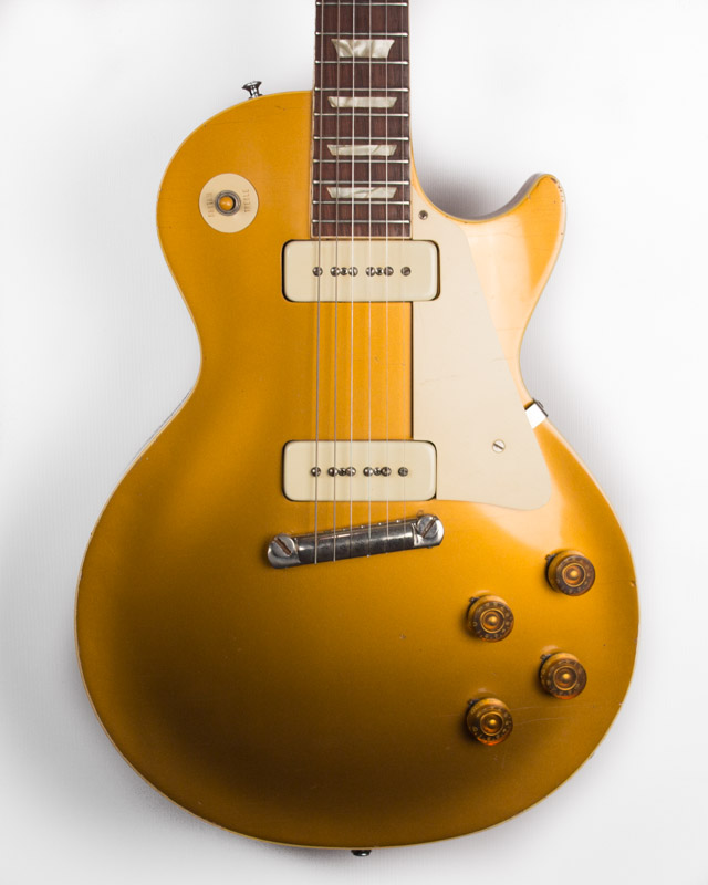 aaf9e1be88fac0 1955 Gibson Les Paul Gold Top -2