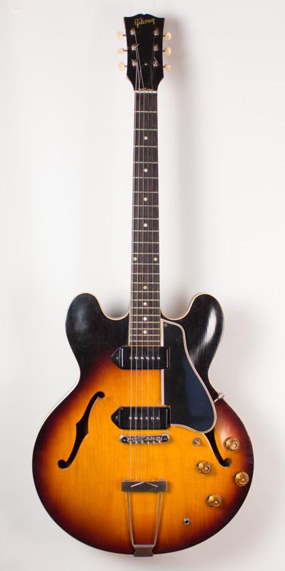 1960 Gibson ES 330-D Sunburst-1