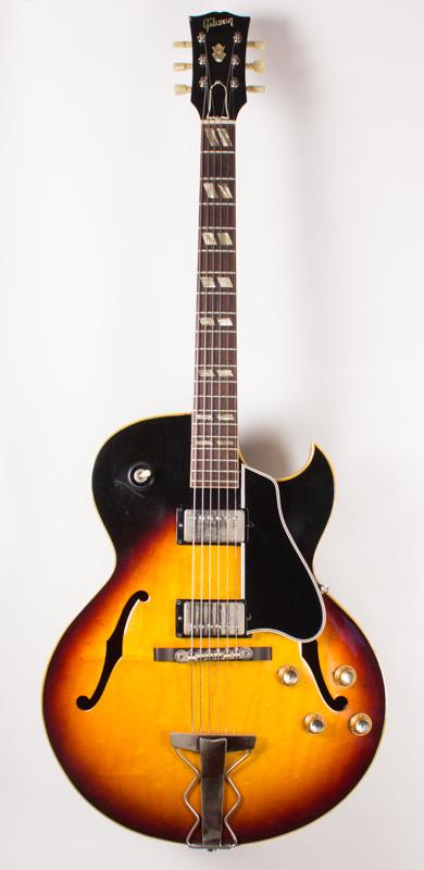 1963 Gibson ES 175-B Sunburst-1