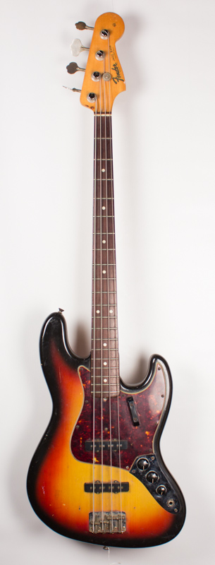1965 Fender Jazz Bass Sunburst-1