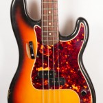 1965 Fender P Bass Sunburst-2
