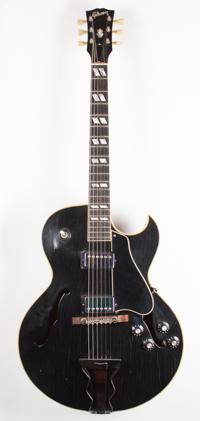 1968 Gibson ES 175 ( Rare Factory Black )