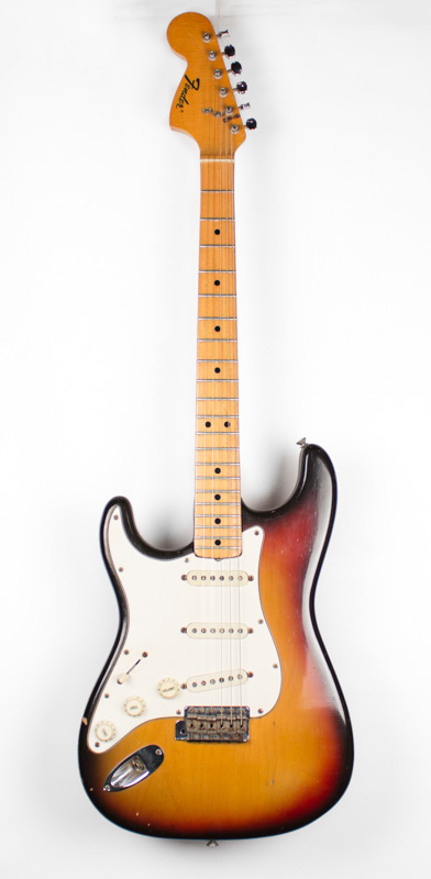 1971 Fender Stratocaster Left Hand Maple-2