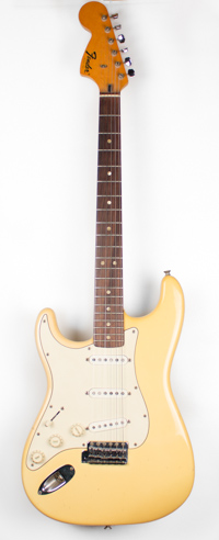 1972 Fender Strocaster Left Handed White