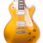1957 Gibson Les Paul Standard Gold Top PAF Cream Rings -3