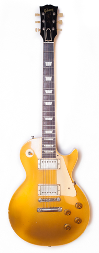 1957 Gibson Les Paul Standard Gold Top PAF Cream Rings