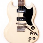 1964 Gibson SG Special White -3