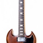 1973 Gibson SG standard brown walnut -1
