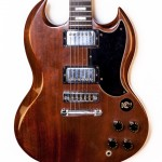 1973 Gibson SG standard brown walnut -3