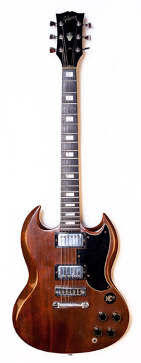 1973 Gibson SG standard brown walnut