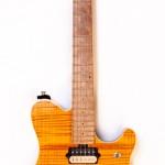 1998 Music Man EVH Amber Flame Top -1