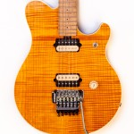 1998 Music Man EVH Amber Flame Top -3