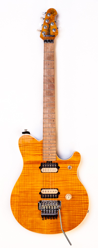 1998 Music Man EVH Amber Flame Top