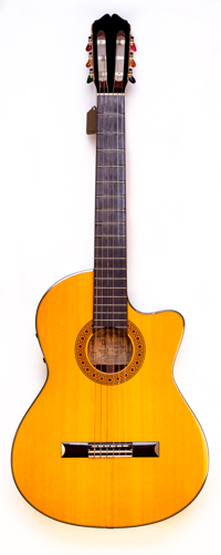 Alvarez CY127CE Classical Acoustic- Owned By Carlos Santana