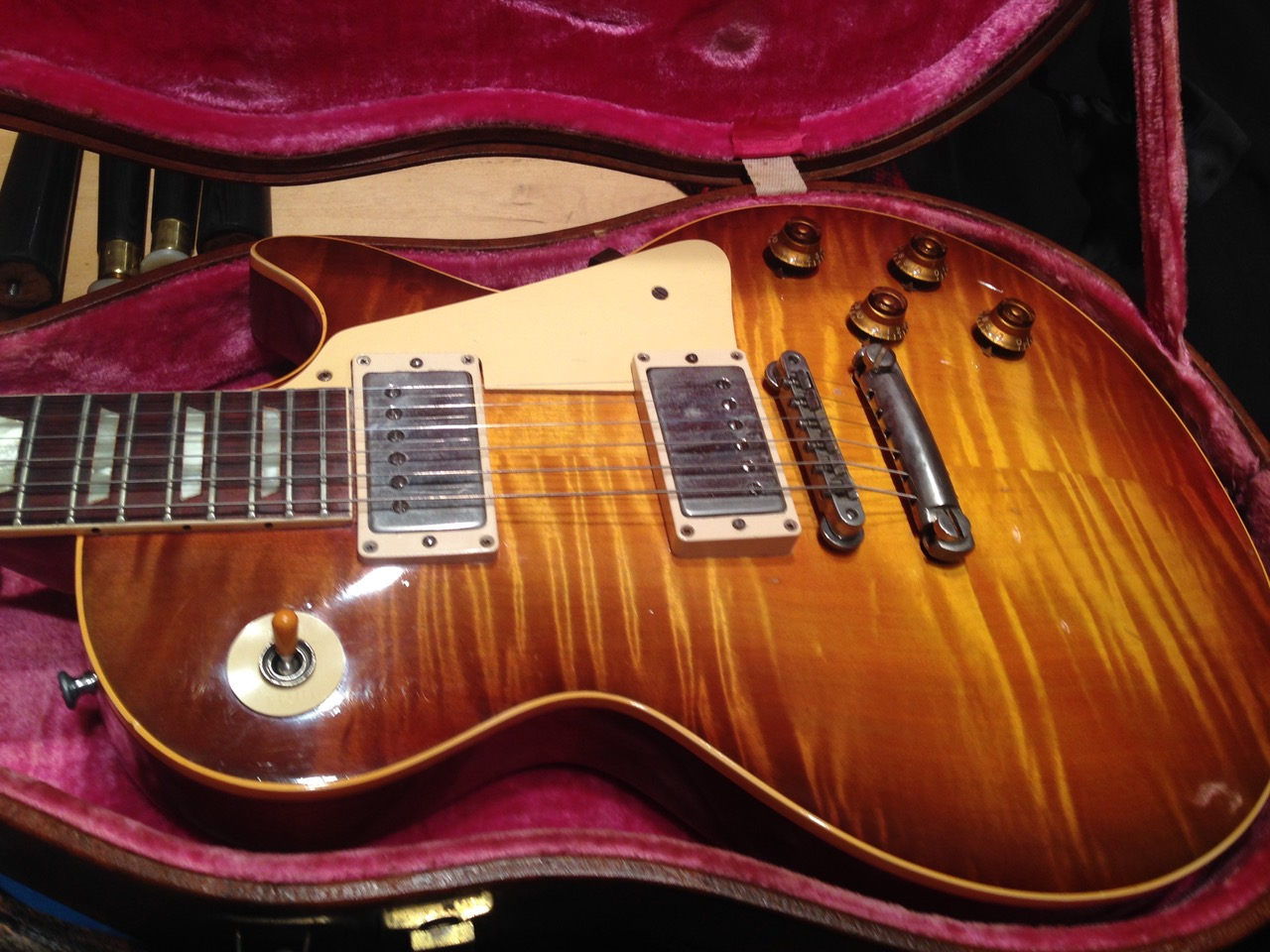 1959 Gibson Les Paul Standard Sunburst Flame Top 8.8 lbs