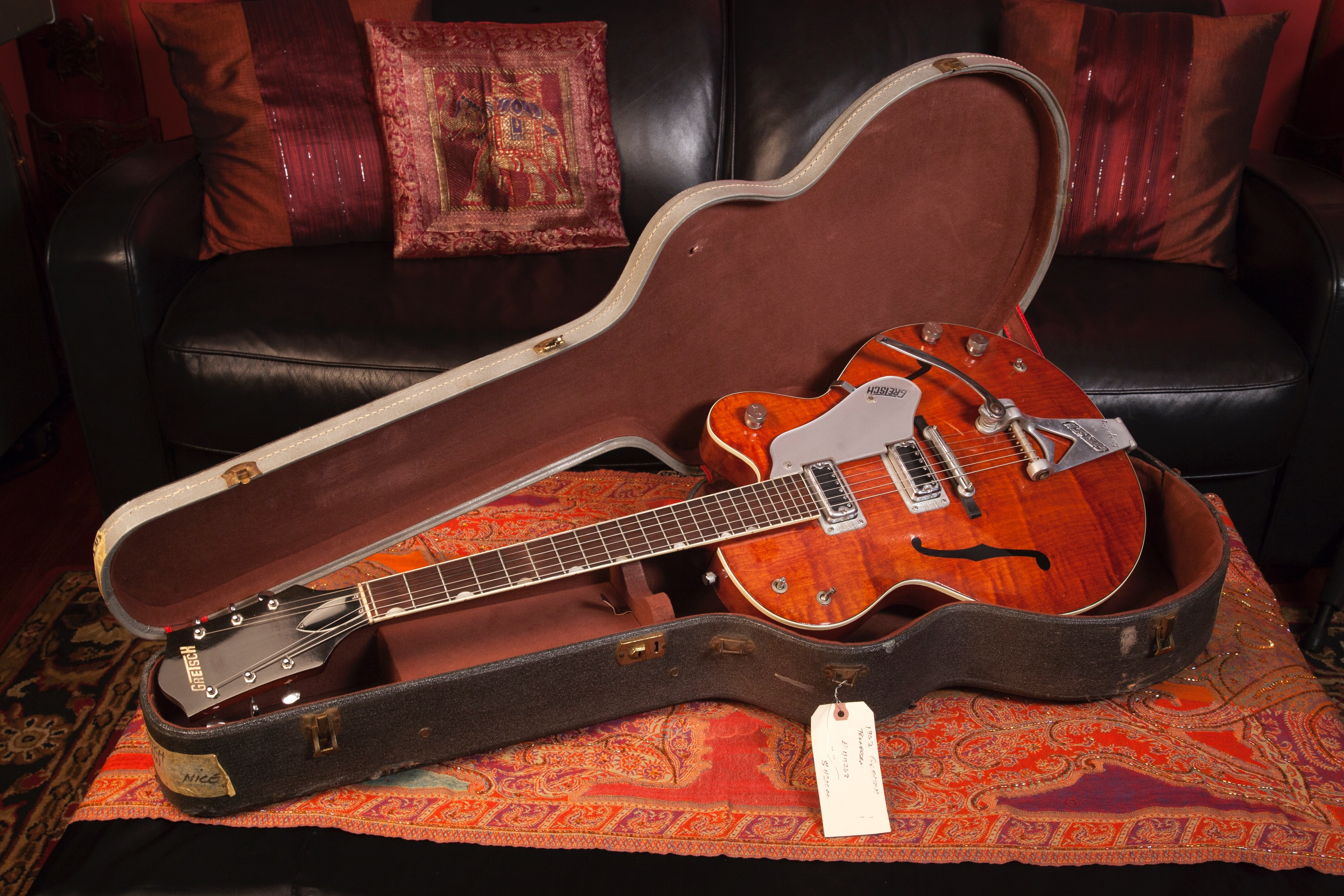 1962 Gretsch Tennessean Burgundy SN 44263