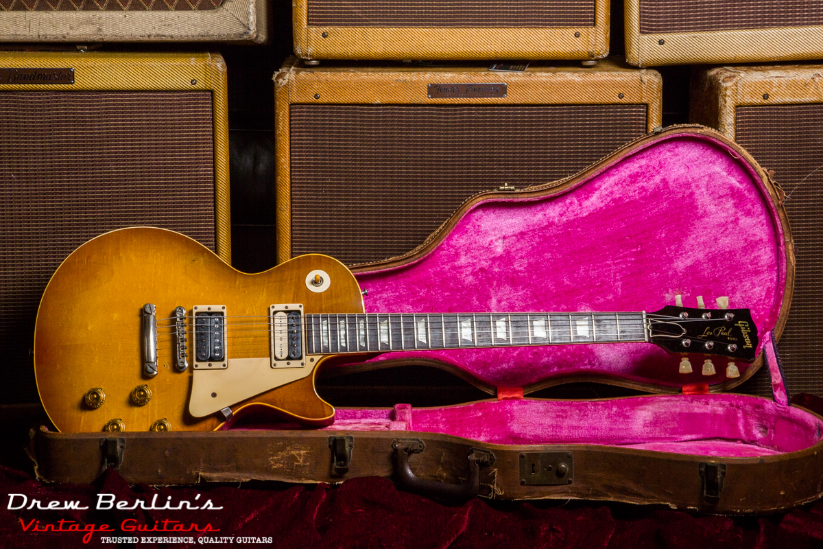 1959 Gibson Les Paul Standard Sunburst Flame Top SN 91104