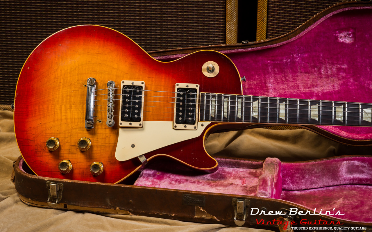 1960 Gibson Les Paul Standard Sunburst SN# 011021 (The Electric Prunes Burst)