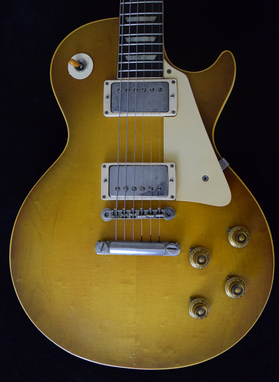 1958 Gibson Les Paul Standard Sunburst Flame Top SN#85403