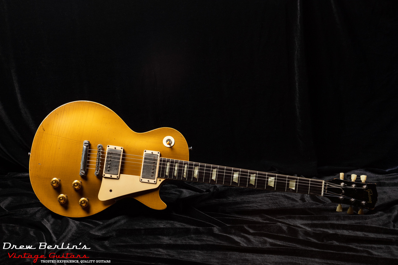 1957 Gibson Les Paul PAF Gold Top (Dark Back) SN# 75216