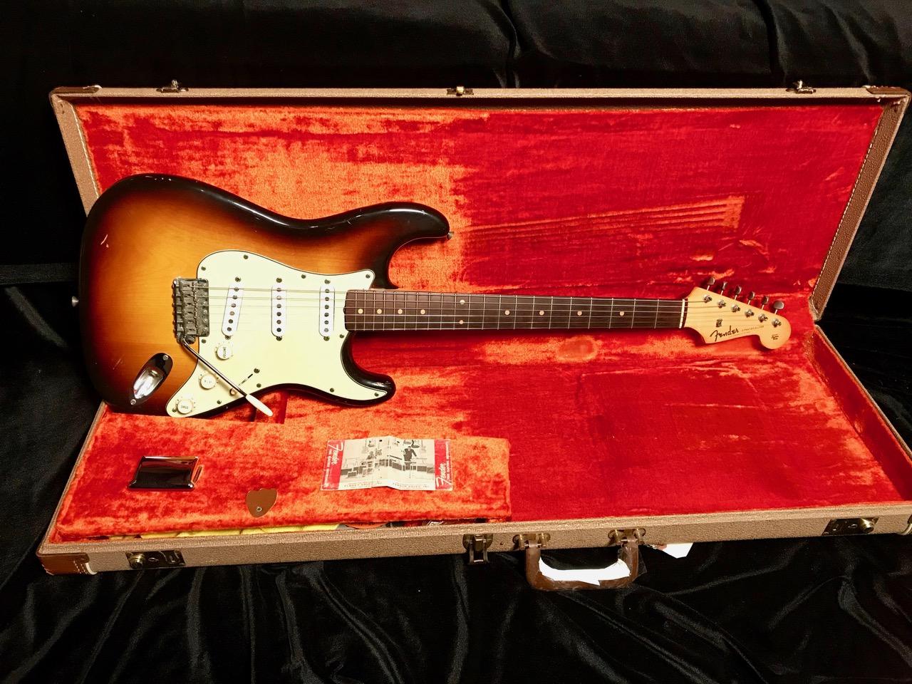 1959 Fender Slab Board Stratocaster (SN# 4378) 100% Original