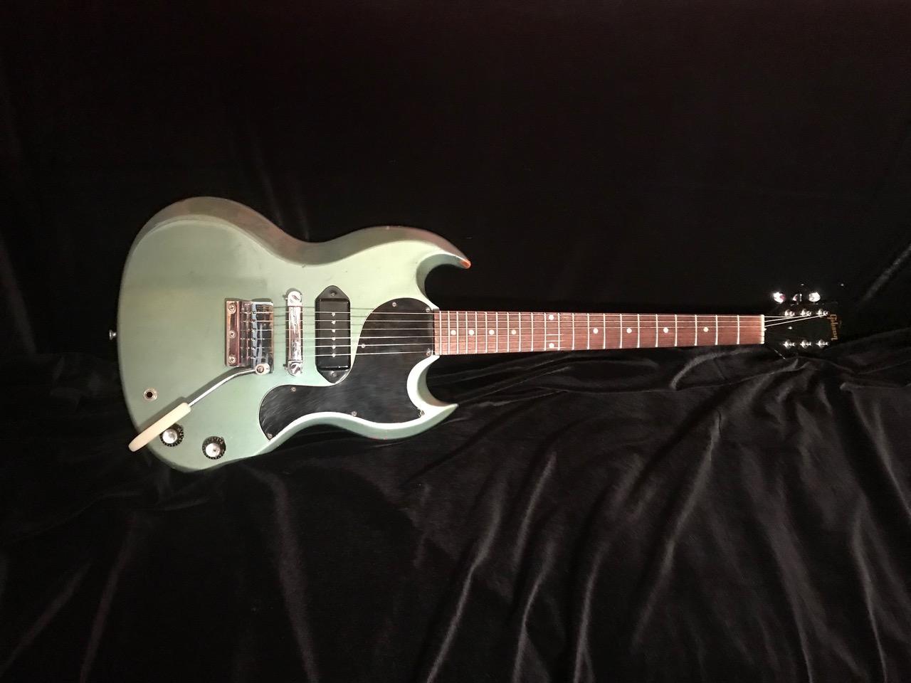 1966 Gibson SG Jr. Pelham Blue SN# 700158