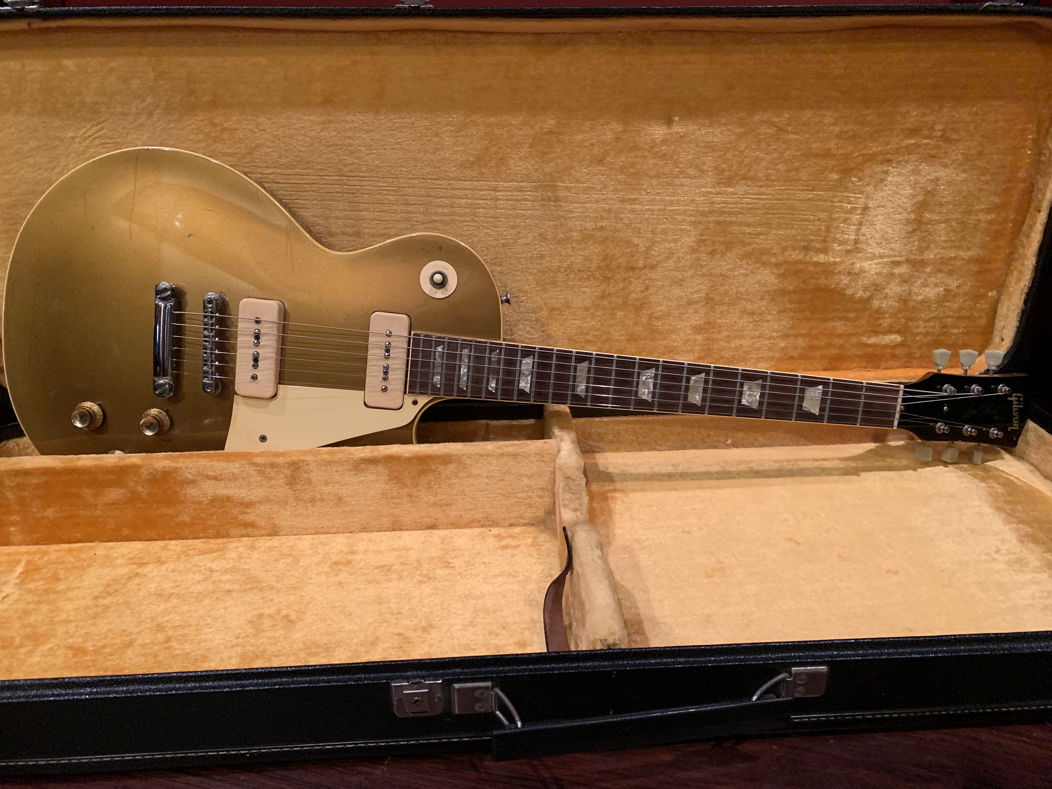 1968 Gibson Les Paul Gold Top #531209