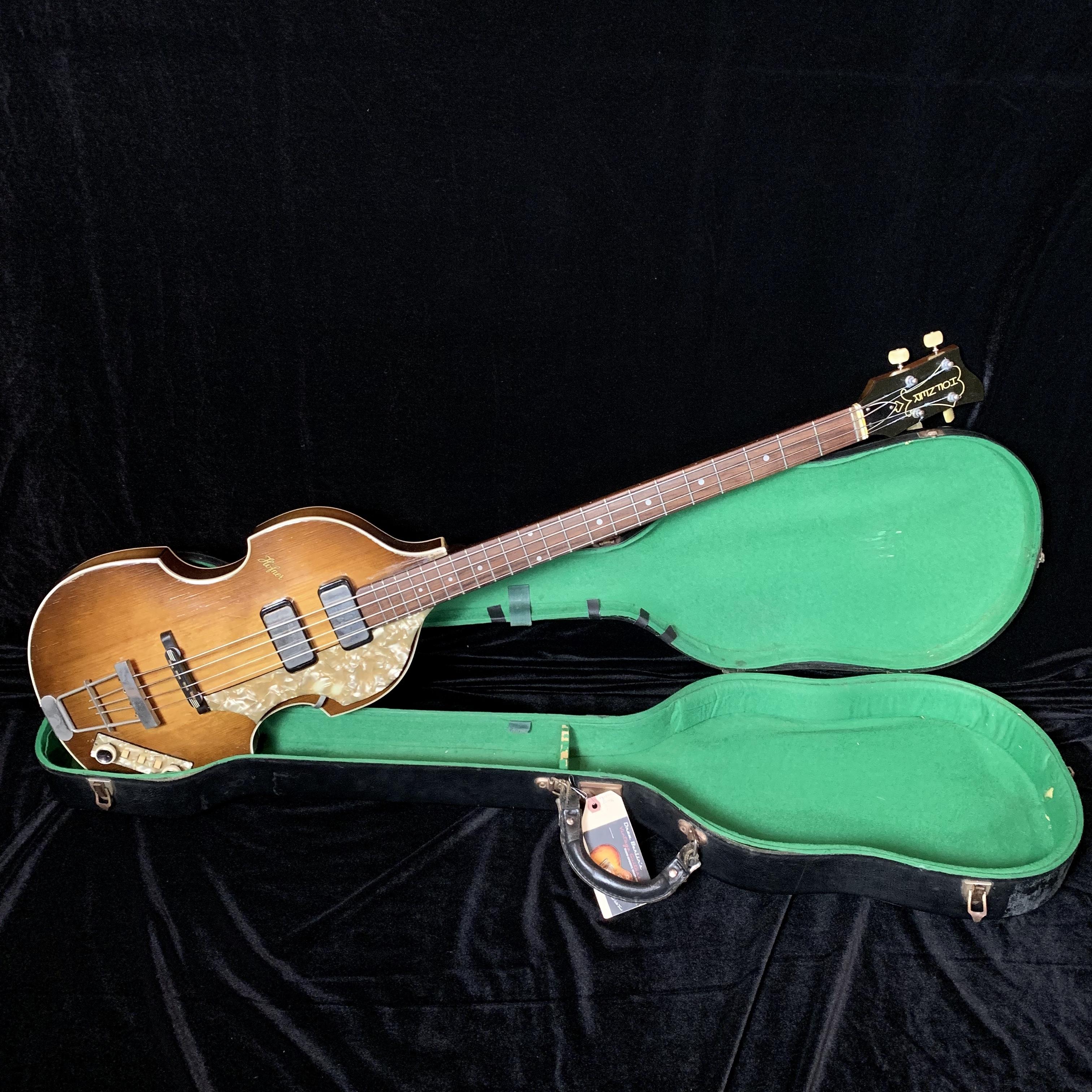 1962/63 Hofner Cavern Bass SN# 082