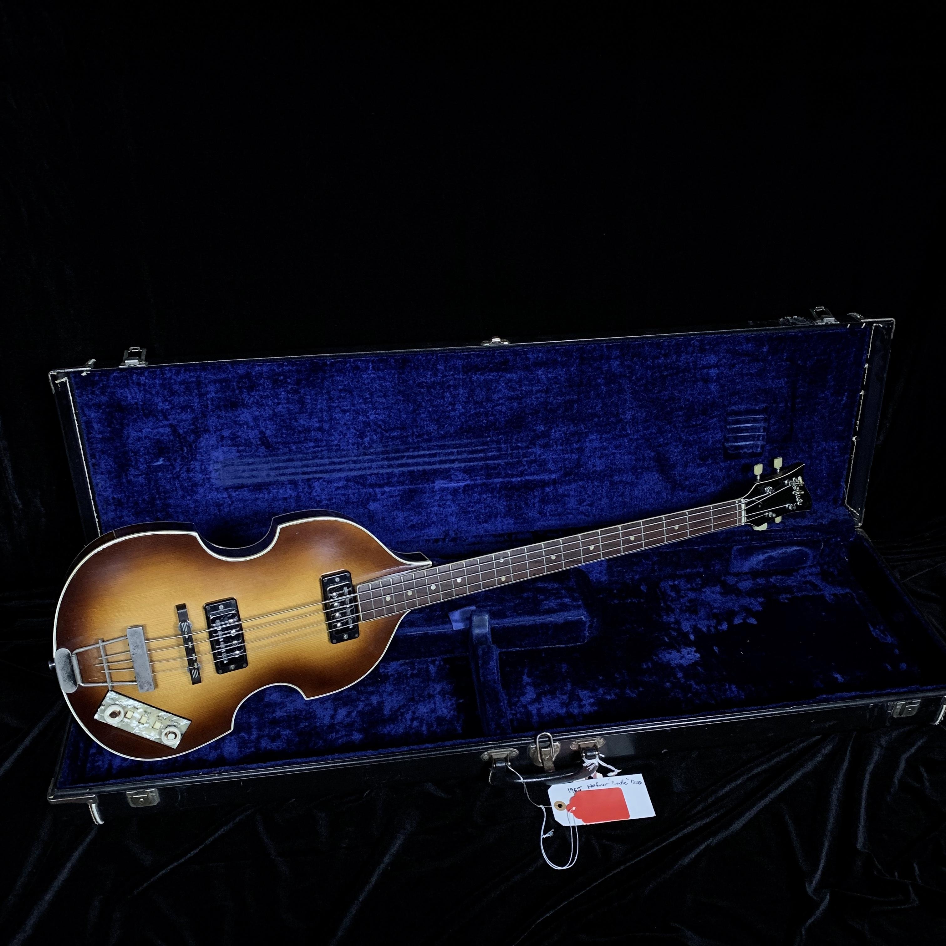 1965 Hofner Beatle Bass Pot# 435