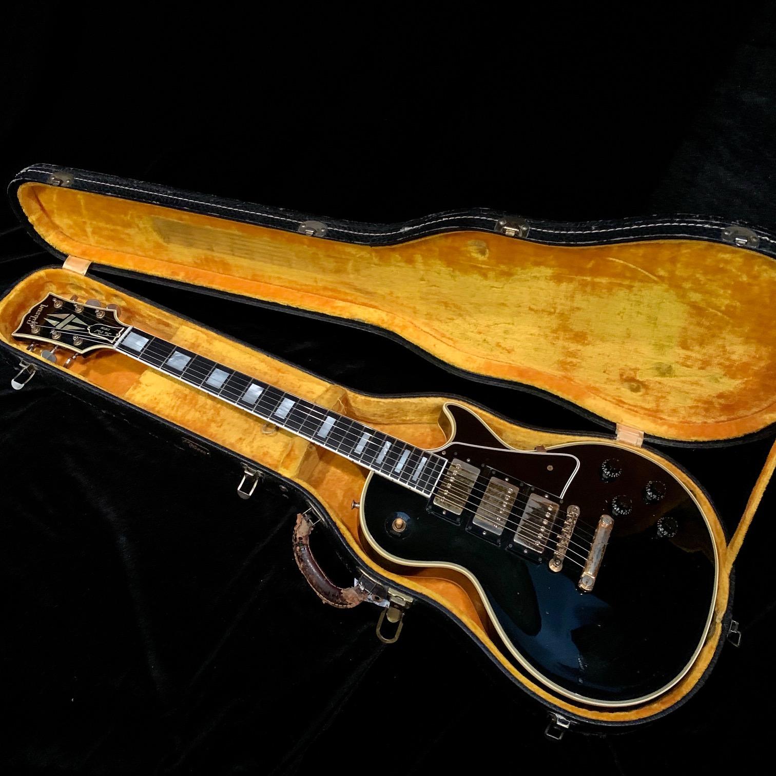 1960 Gibson Les Paul Custom Black Beauty SN# 00625