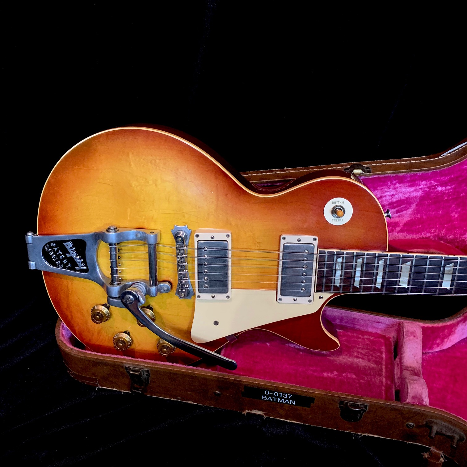 "1960 Gibson Les Paul Standard Sunburst SN# 0-0137 ""Batman Burst"""