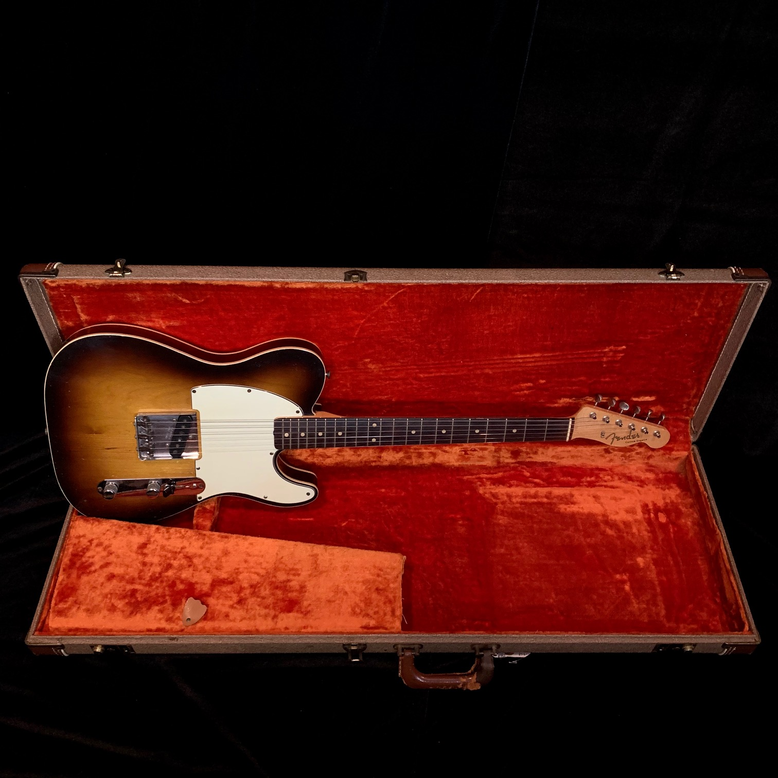 1959 Fender Esquire Custom Double Bound Sunburst SN# 51450
