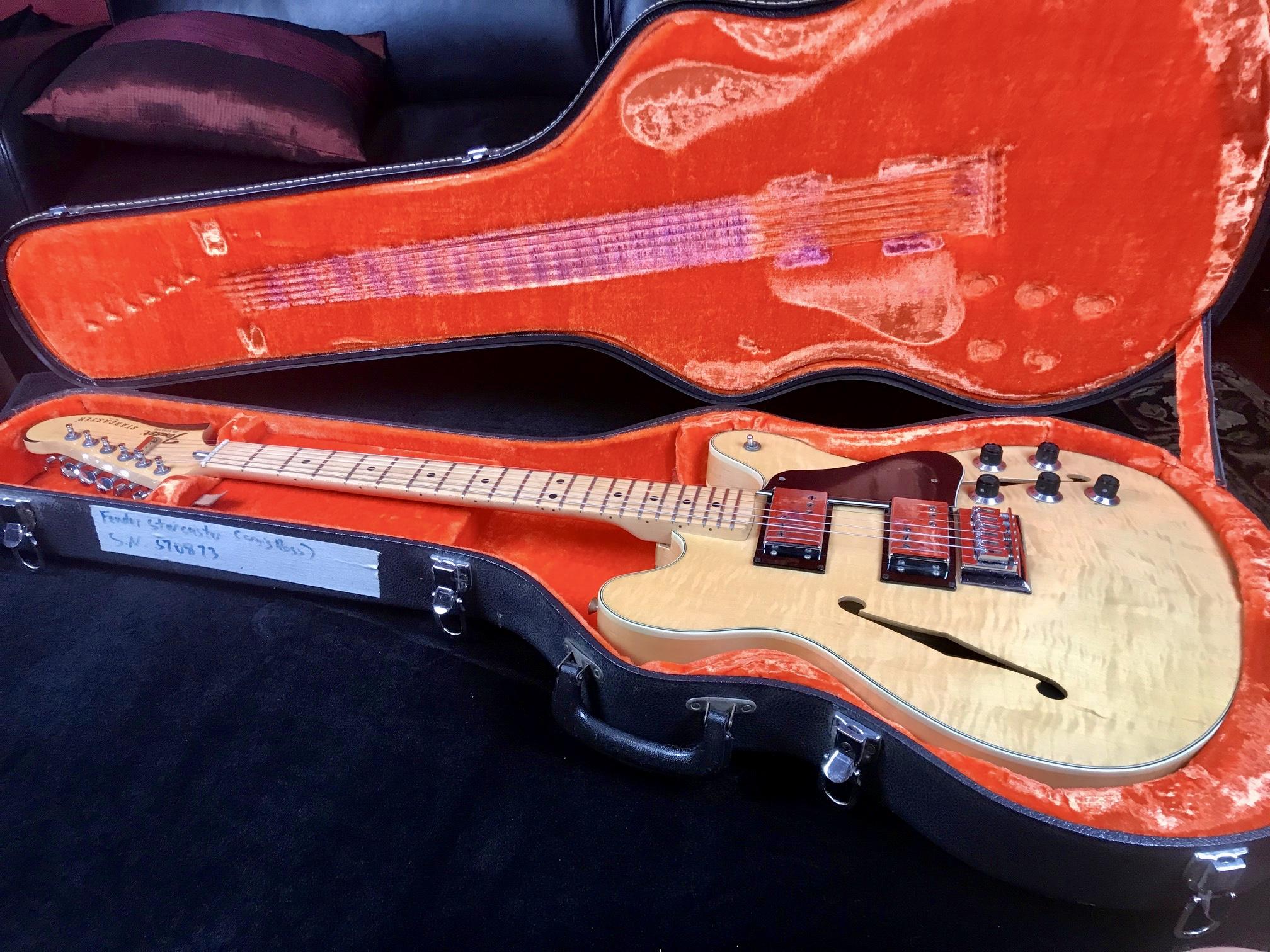 1978 Fender Starcaster Blonde SN S70873
