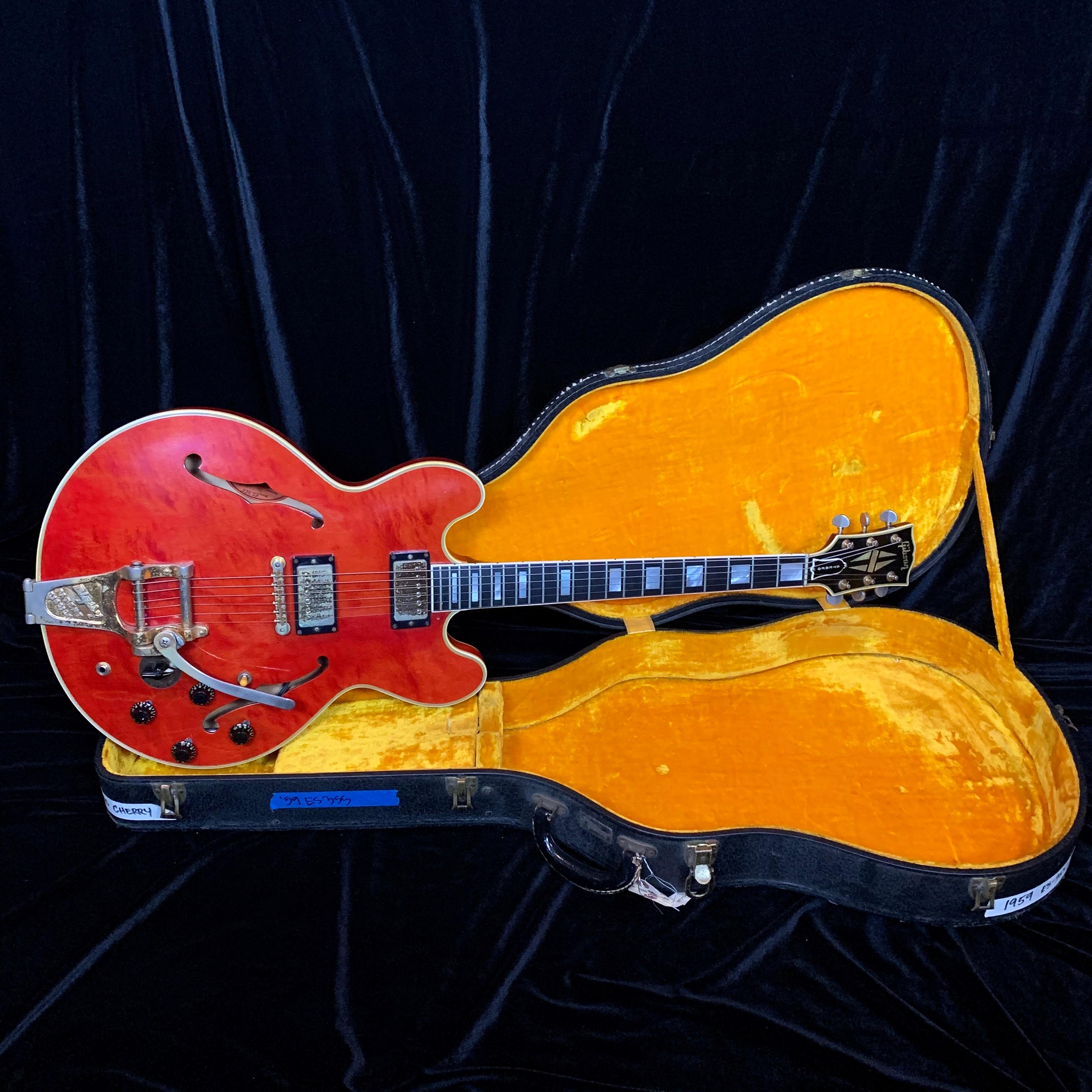 1960 Gibson ES 355 TD Cherry Red SN# A34125