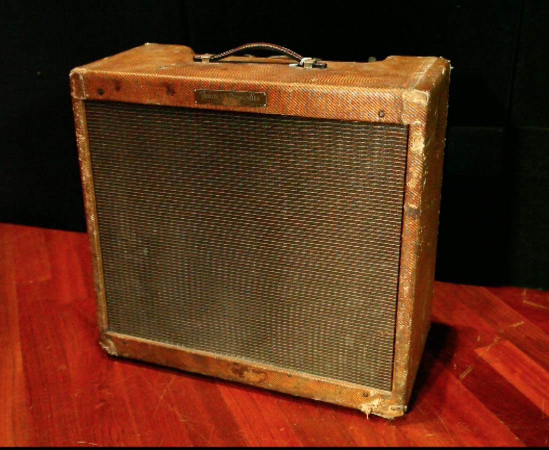 1960 Fender Tweed Tremolux (Big Box) Original P-12-Q SN# 03078