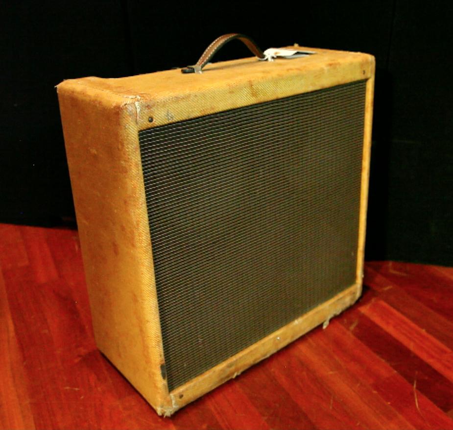 1959 Fender Bassman 4 x 10, P-10-Q's SN# A01106