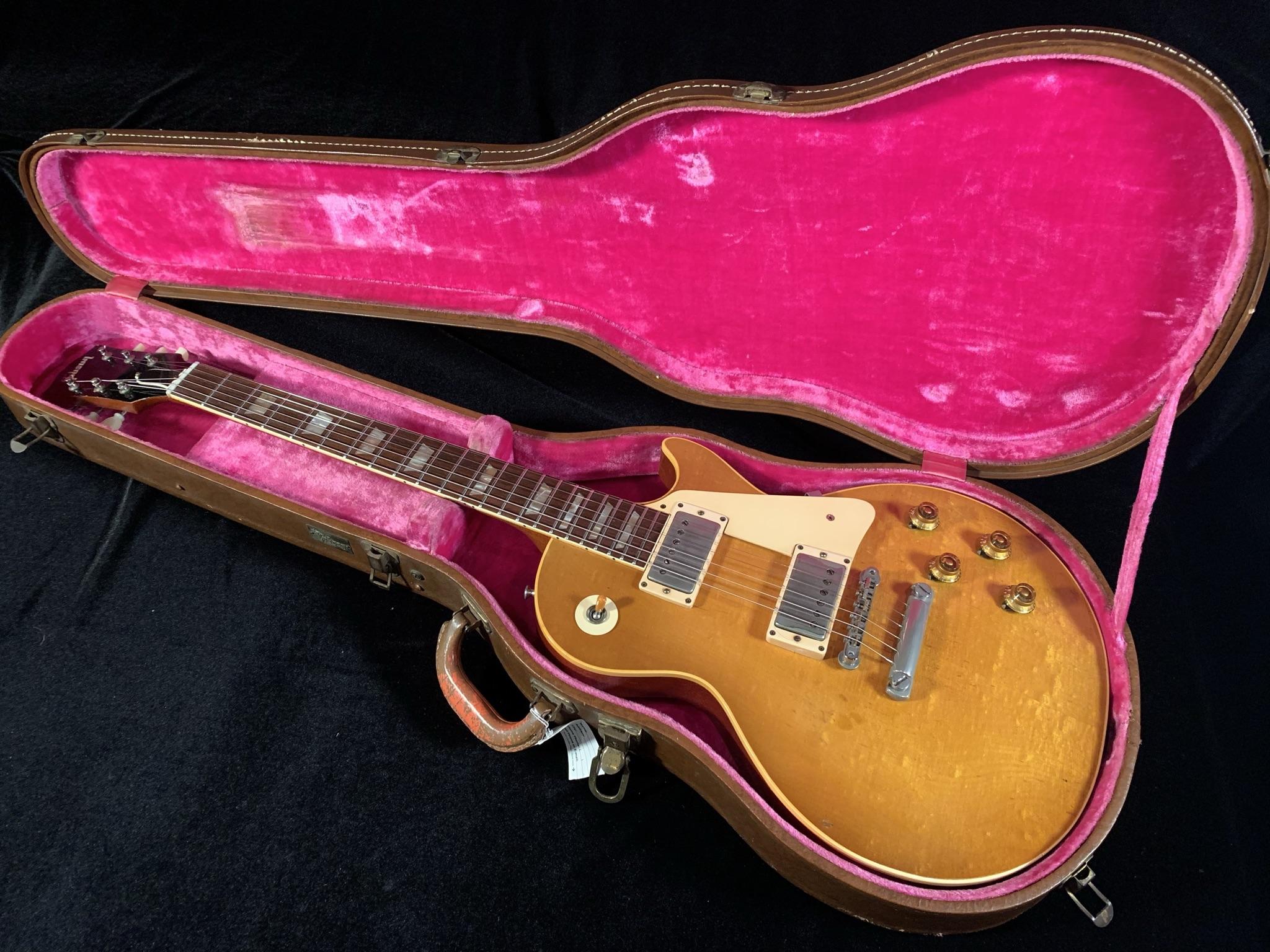 """1958 Gibson Les Paul Standard Sunburst """"Birdseye Burst"""" SN# 8 5438"""