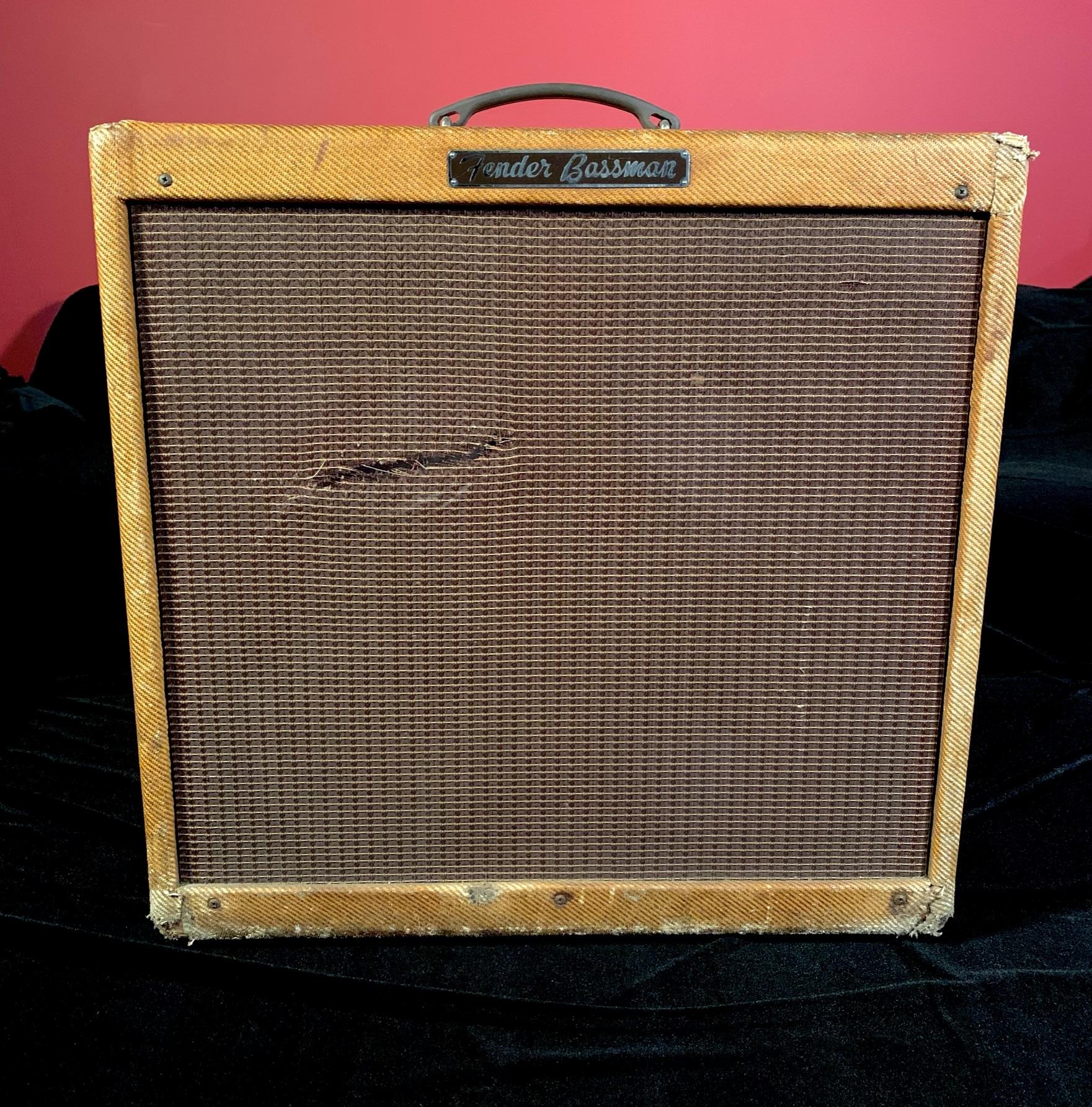 1960 Fender 4x10 Bassman 5F-6A Tweed SN# BM 04424