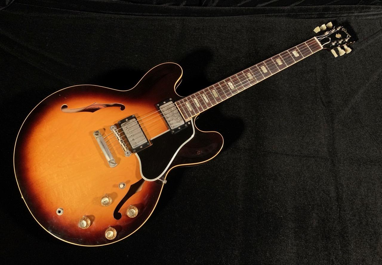 1963 Gibson ES-335 Sunburst SN# 100899 $35,000.00